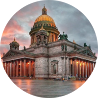 Private guided sightseeing around St. Petersburgу